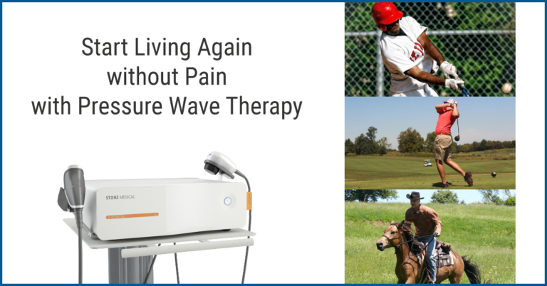 Pressure Wave Therapy Ad